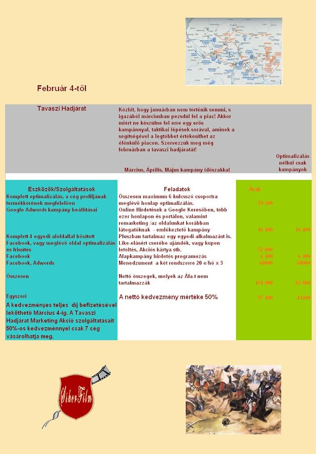 Tavaszi Marketing Akció Debrecen
